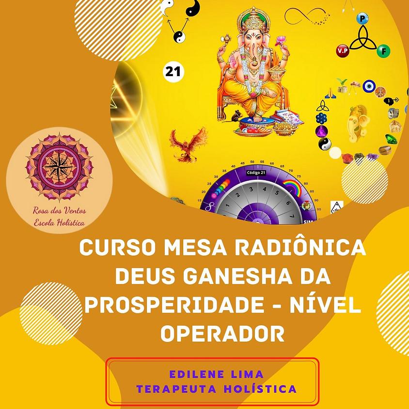 Curso Online: Mesa Radiônica Deus Ganesha da Prosperidade - Nível Operador