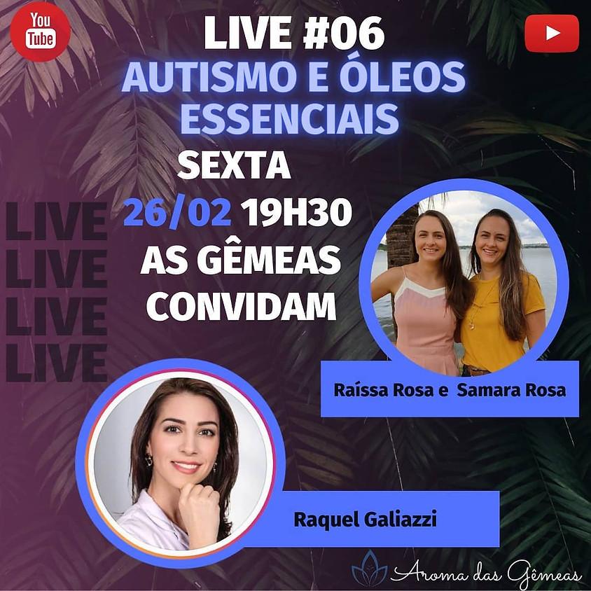 Live:  Autismo e Óleos Essenciais