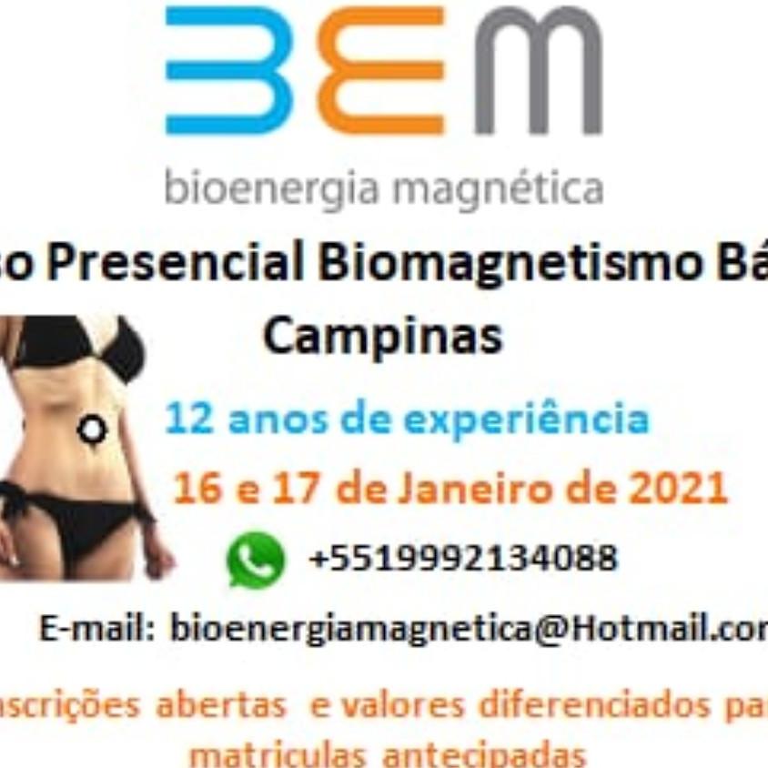 34o CURSO DE BIOENERGIA MAGNÉTICA