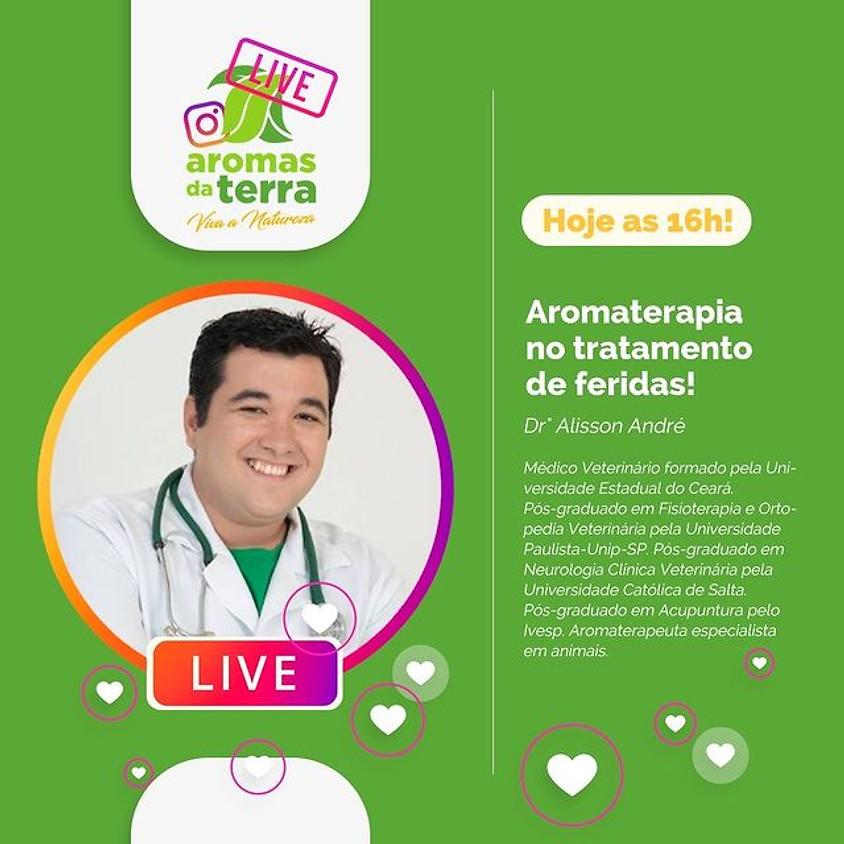 Live:  Aromaterapia no tratamento de feridas