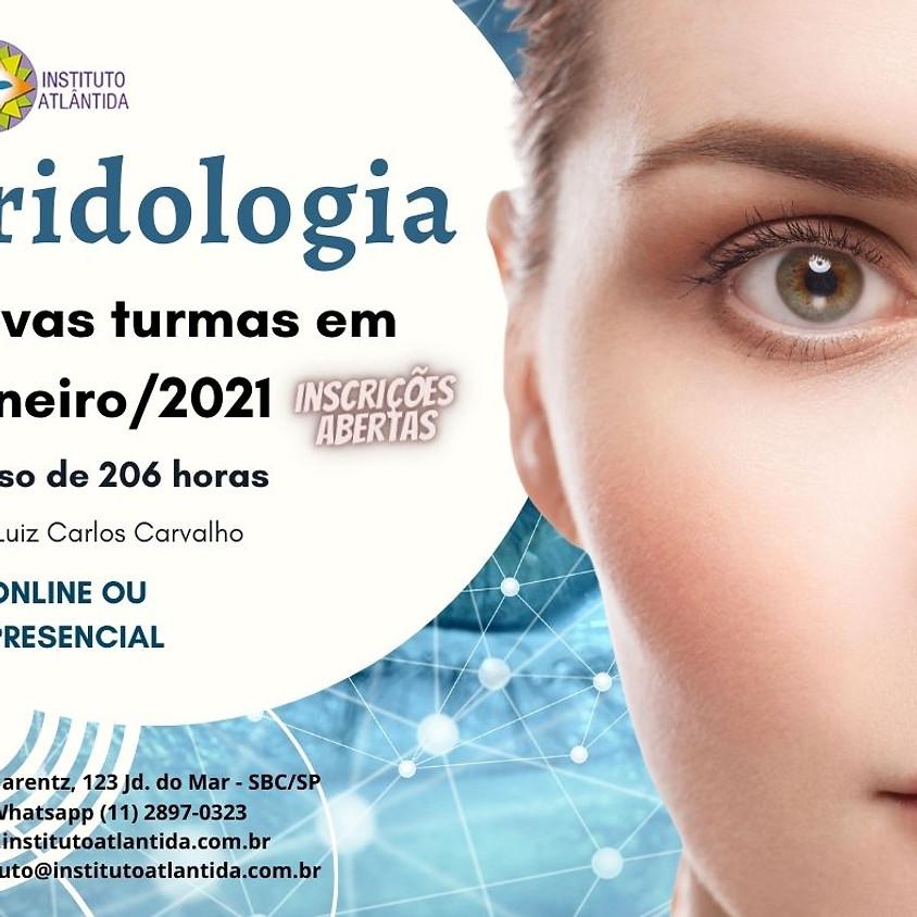 Curso Presencial ou Online:  Iridologia