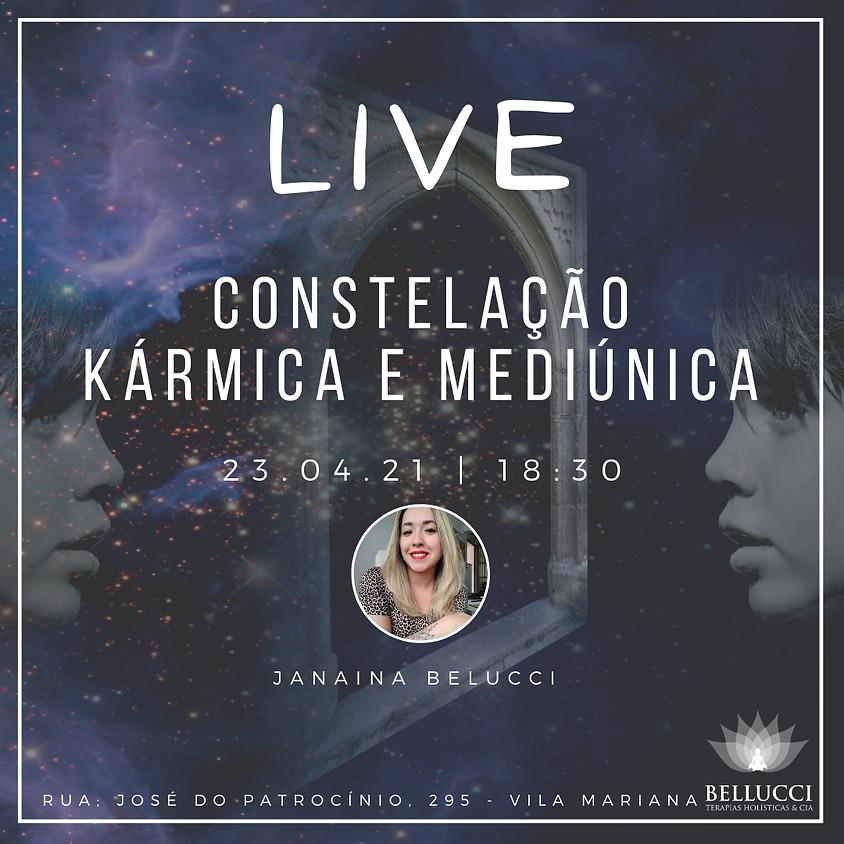 Live: Constelação Sistêmica Kármica e Mediúnica