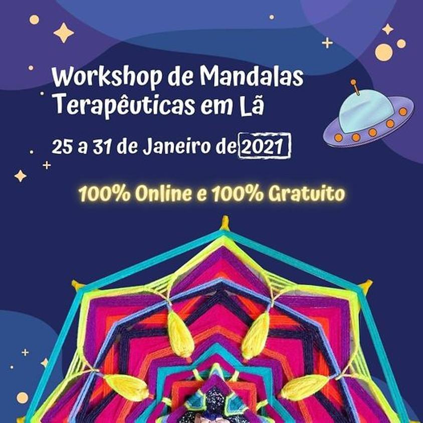 WorkShop de Mandalas Terapêuticas em Lã