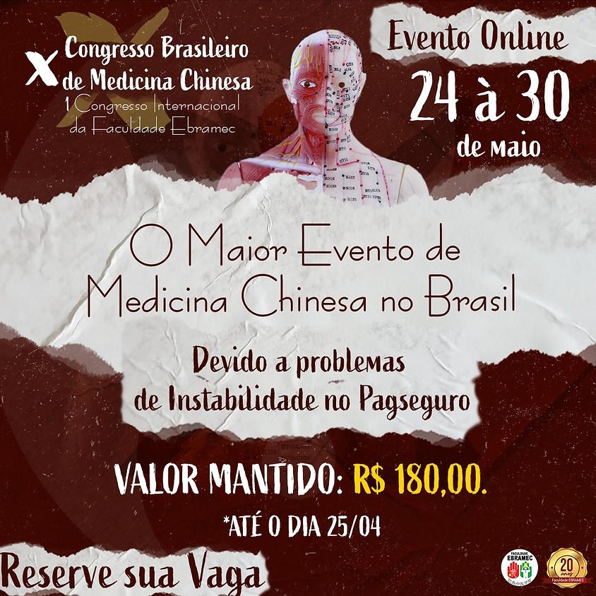 Evento Online: X Congresso Brasileiro de Medicina Chinesa