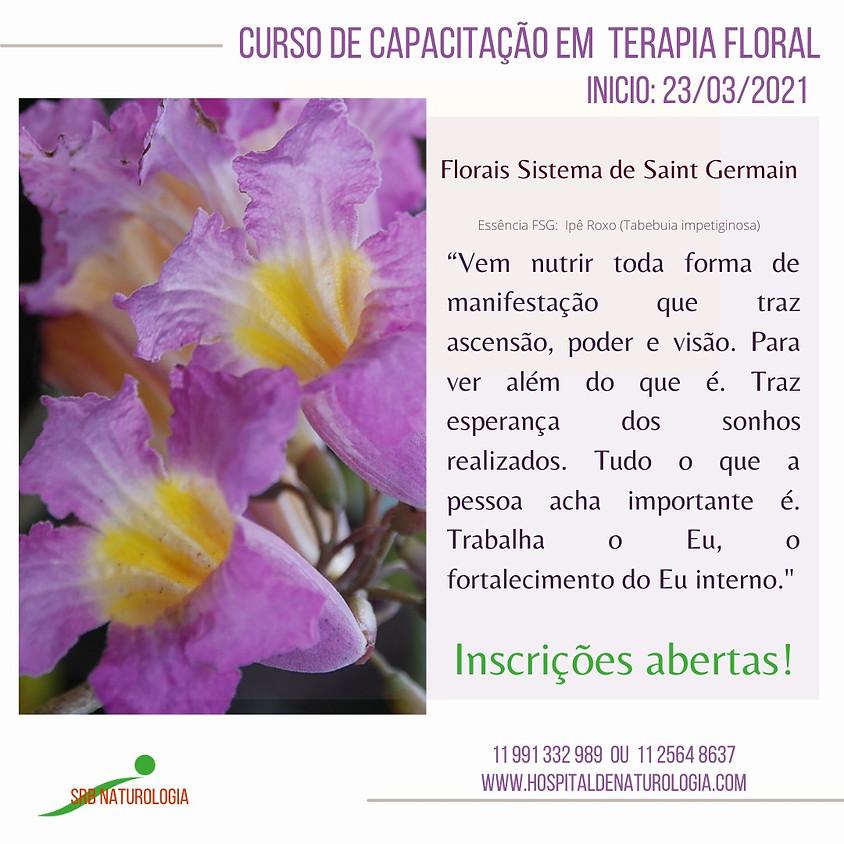 Curso Presencial:  Capacitação em Terapia Floral