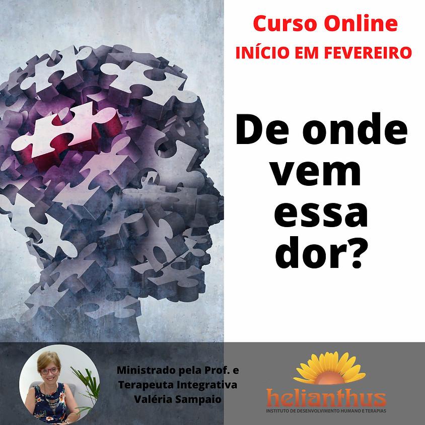 Curso Online: De Onde Vem Essa Dor
