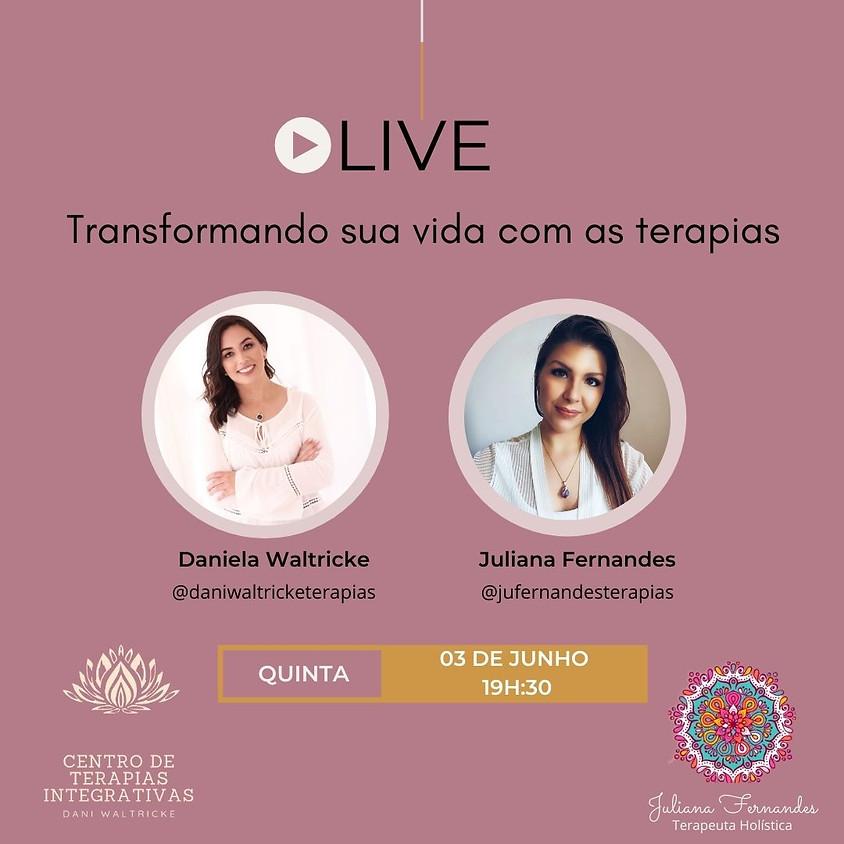 Live: Transformando sua vida com as Terapias