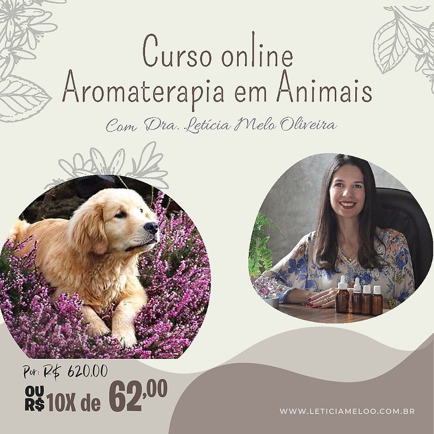 Curso Online: Aromaterapia em Animais