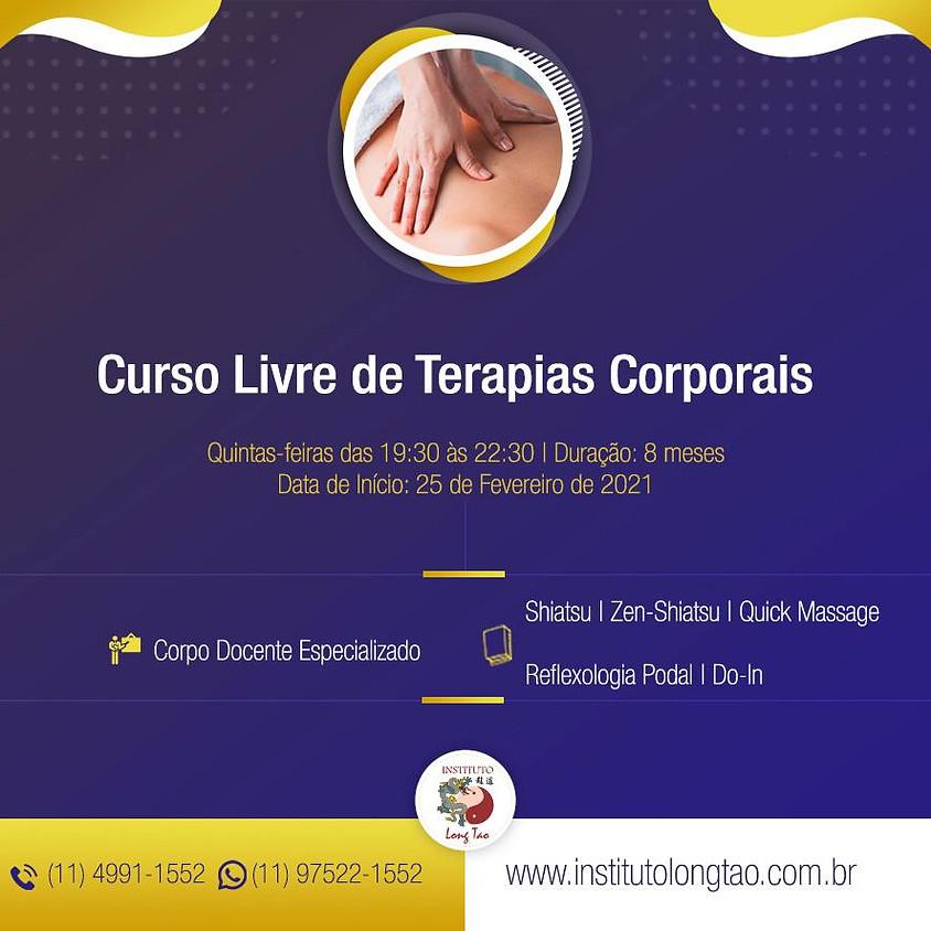 Curso Livre de Terapias Corporais