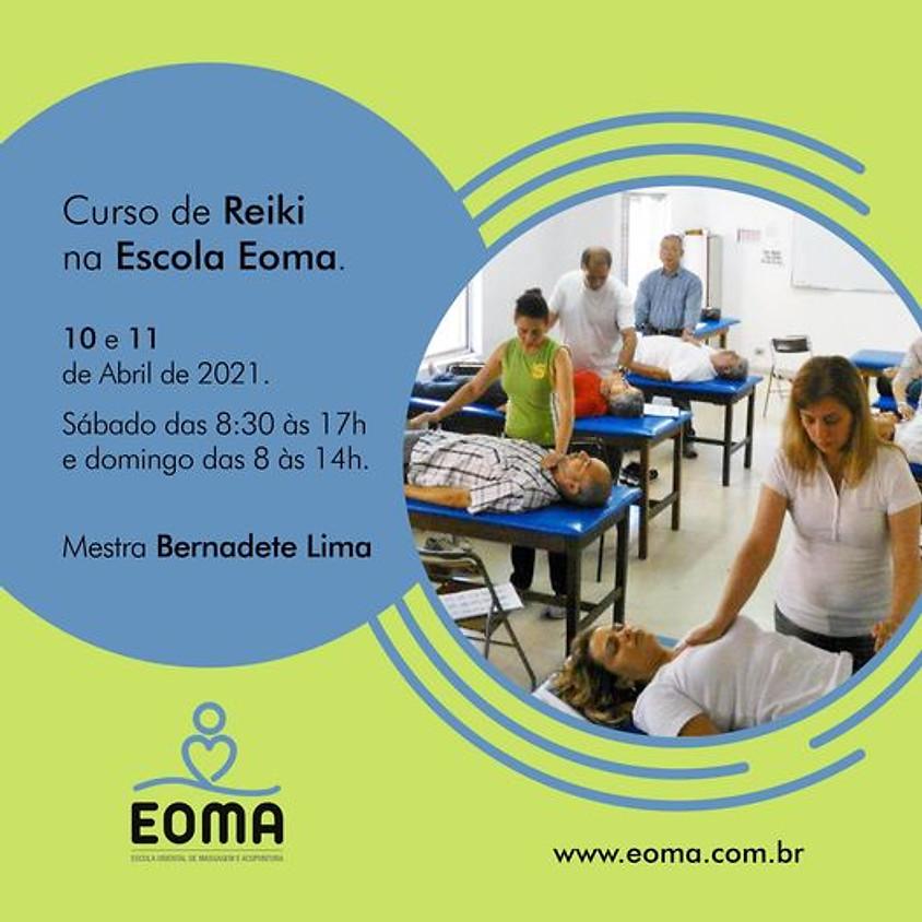 Curso de Reiki na Escola Eoma