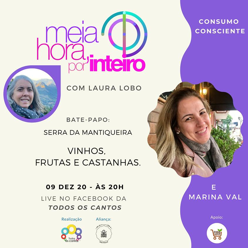 Live: Consumo Consciente   Vinhos, Frutas e Castanhas