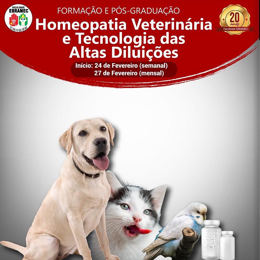 Curso: Formação e Pós Graduação  Homeopatia e Tecnologia das Altas Diluições
