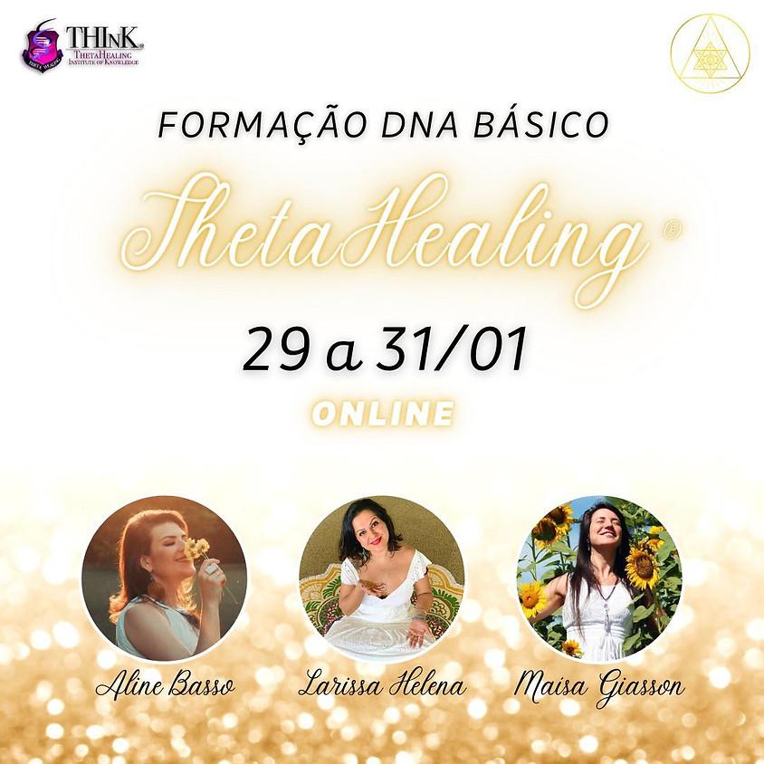 Curso Online: Formação DNA Básico ThetaHealing