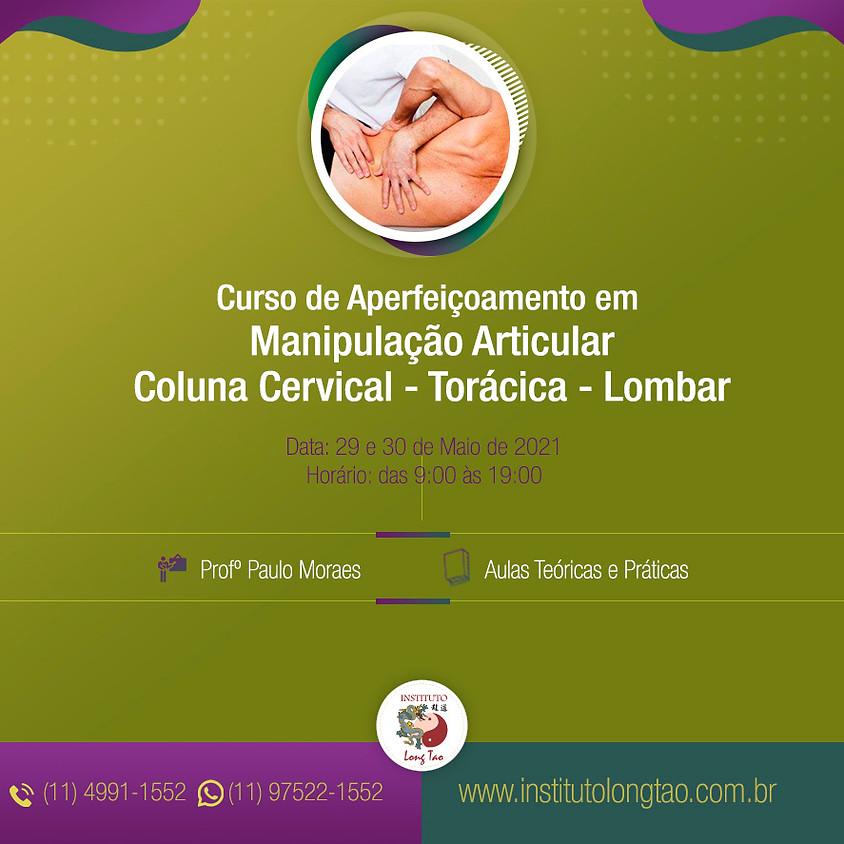Curso de Aperfeiçoamento em Manipulação Articular (Coluna Cervical – Torácica - Lombar)