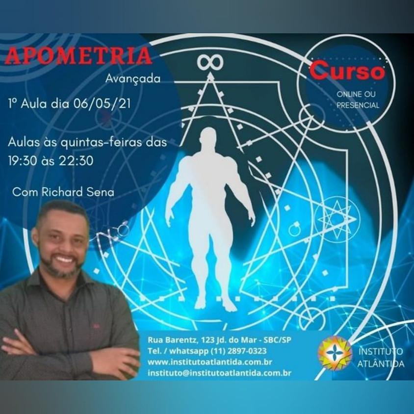 Curso Presencial ou Online: Apometria - Avançada