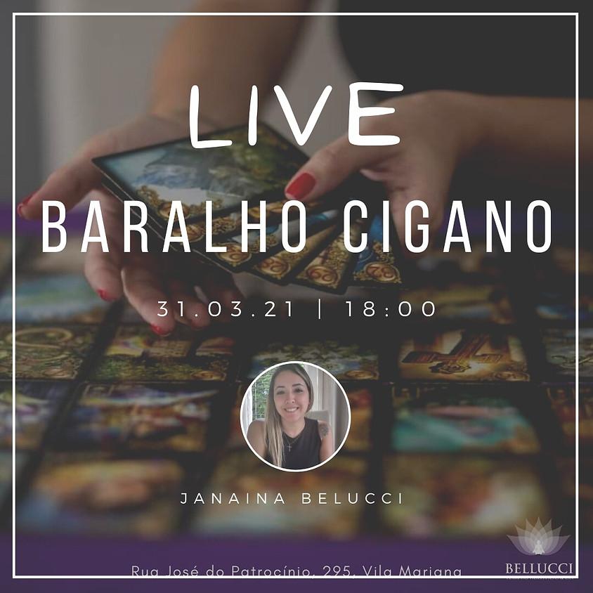 Live: Baralho Cigano