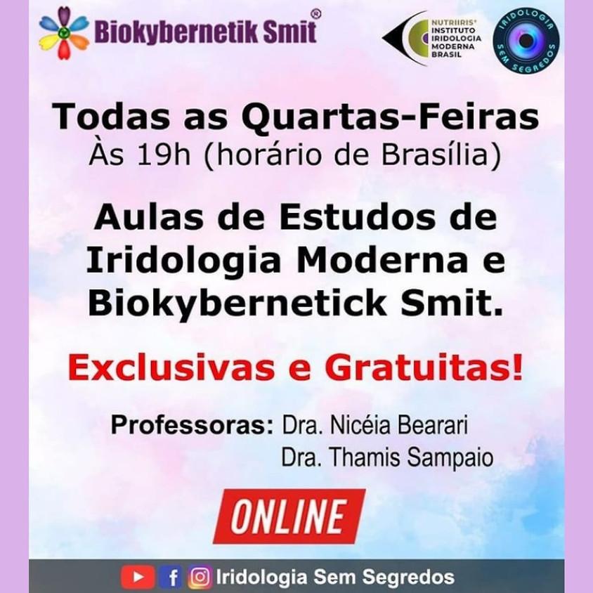 Aulas Gratuitas: Estudos de Iridologia Moderna e Biokybernetik Smit