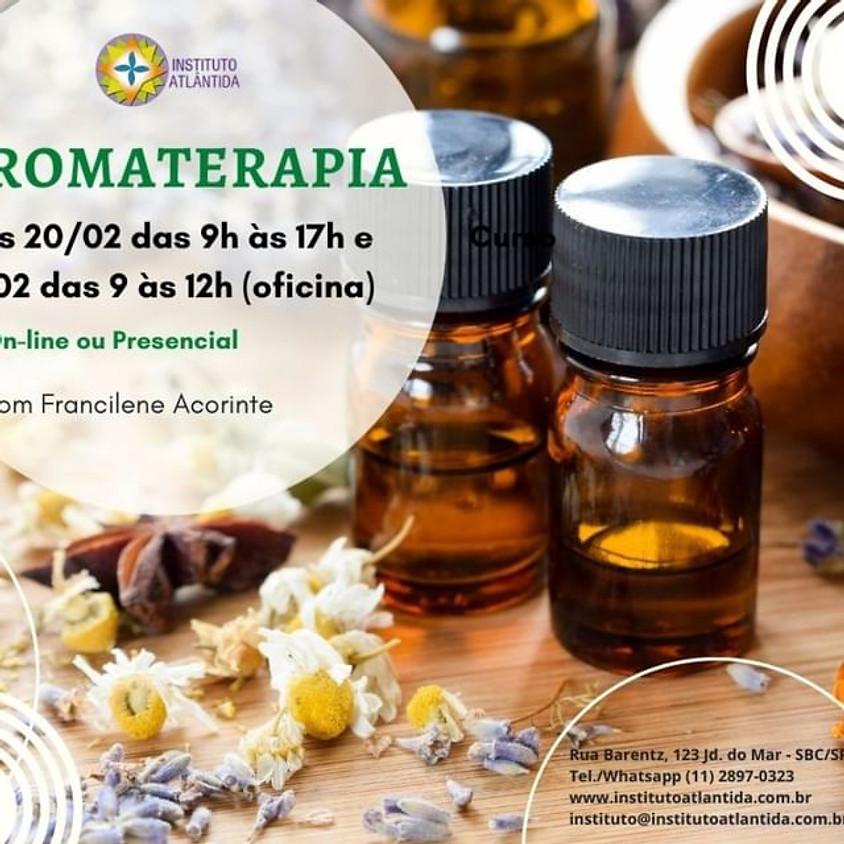 Curso Online ou Presencial Aromaterapia