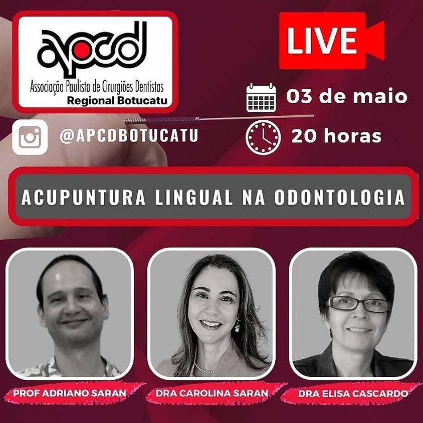 Live: Acupuntura Lingual na Odontologia