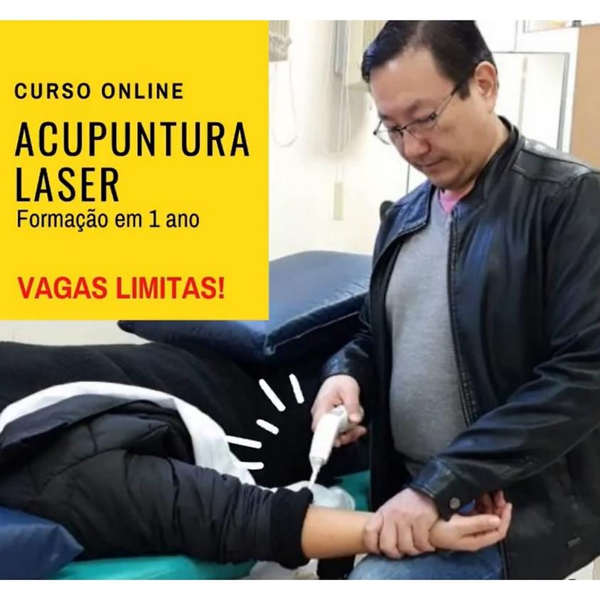Curso Online:  Acupuntura Laser