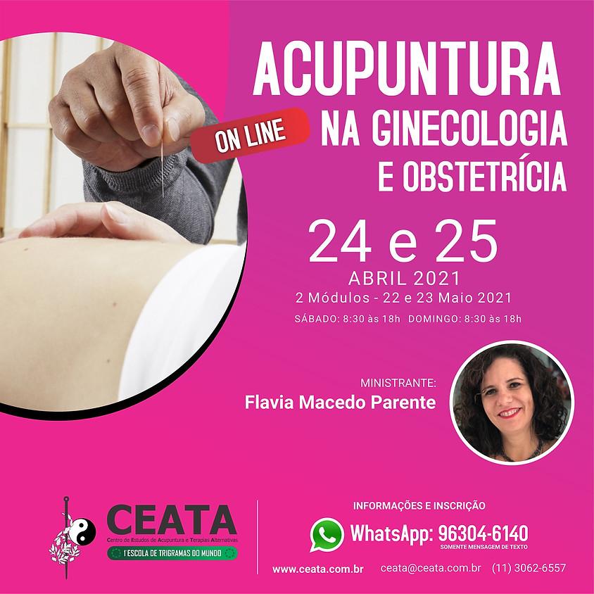 Curso Online: Acupuntura Ginecologia e Obstetrícia