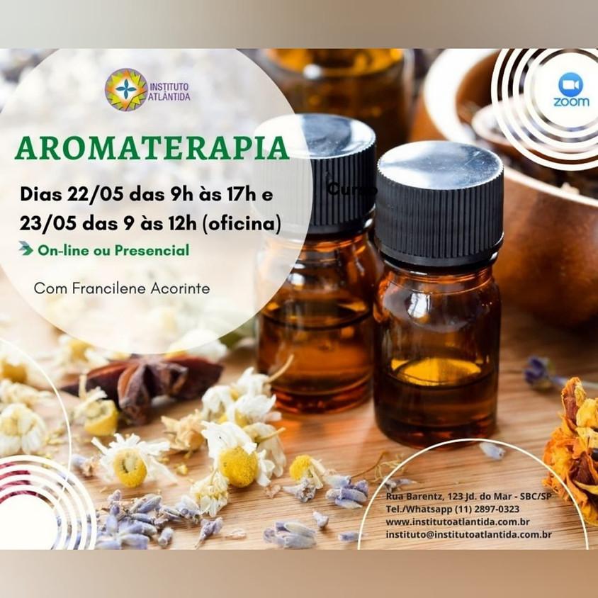 Curso Online ou Presencial Florais Aromaterapia