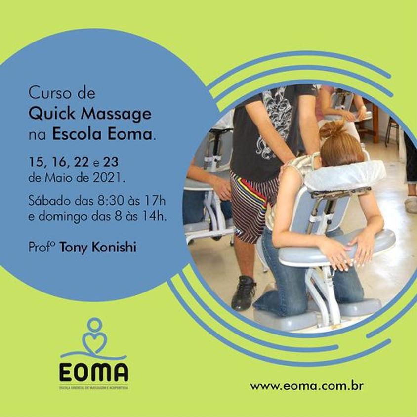 Curso de Quick Massagem na Escola Eoma