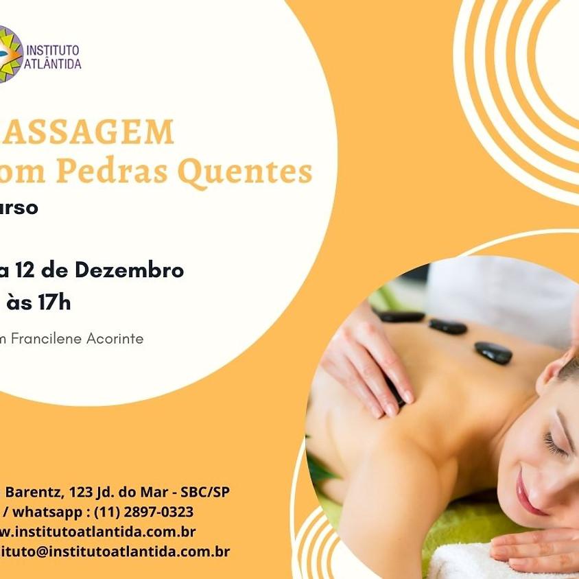 Curso: Massagem com Pedras Quentes