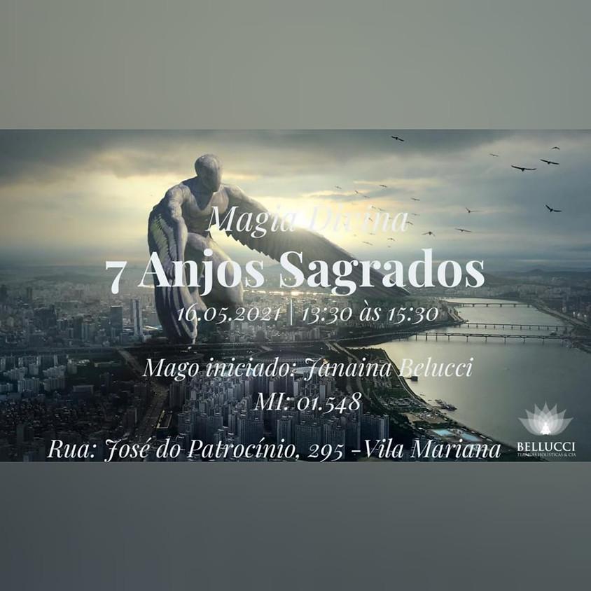 Curso: Magia Divina 7 Anjos Sagrados