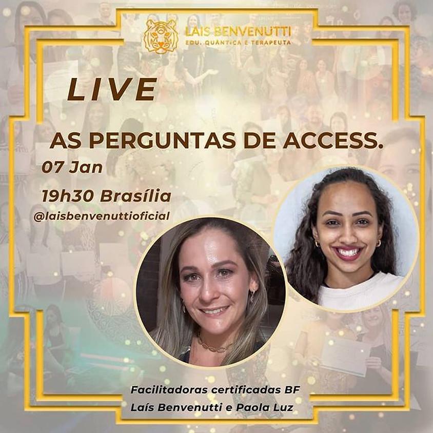 Live: As Perguntas de Access