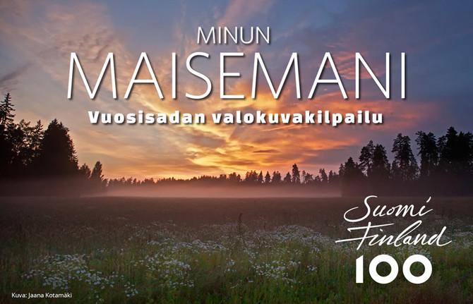 Satavuotias Suomi maisemakuvissa