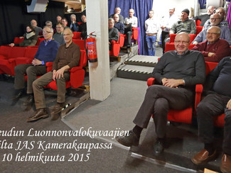 Helmikuun 2015 jäsenilta