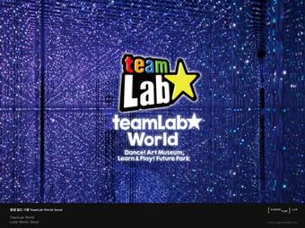 리뷰 | 팀랩 월드 서울 Team Lab World Seoul