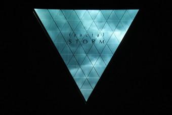 전시 | fractal : STORM 프로젝션 맵핑 미디어 아트 전시회
