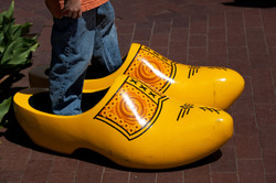 Giant Wooden Shoes