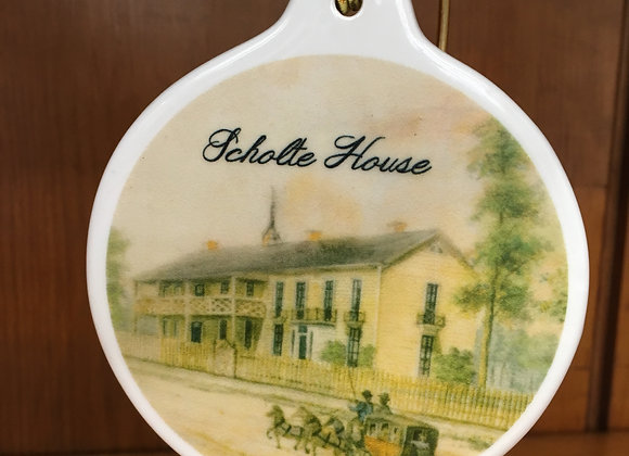 Scholte House Christmas ornament