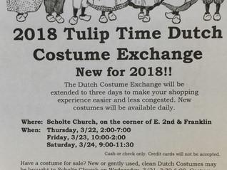 2018 Dutch Costume Exchange