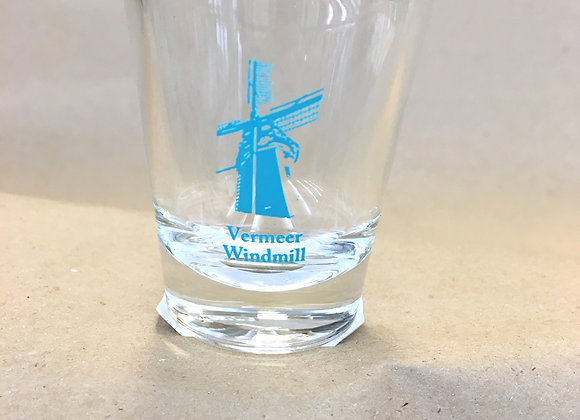 Vermeer Windmill Shot Glass