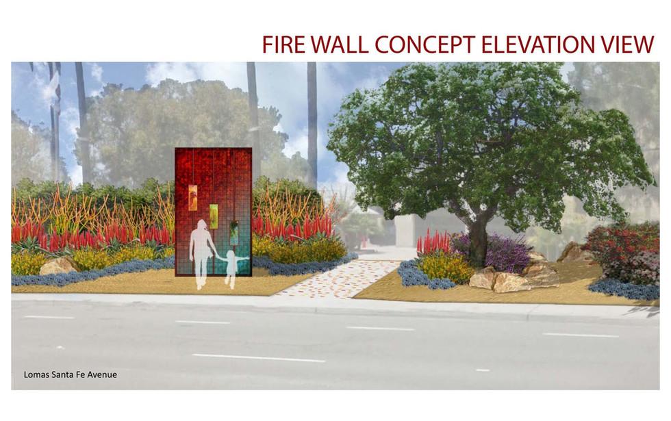 VDLA Fire Station-Art Elevation Simulati