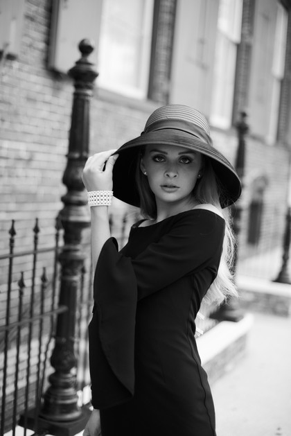 Black & white Editorial photoshoot