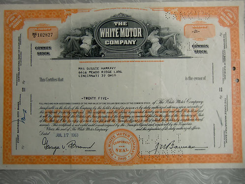 The white motor company