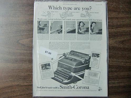 Smith Corona typewriters