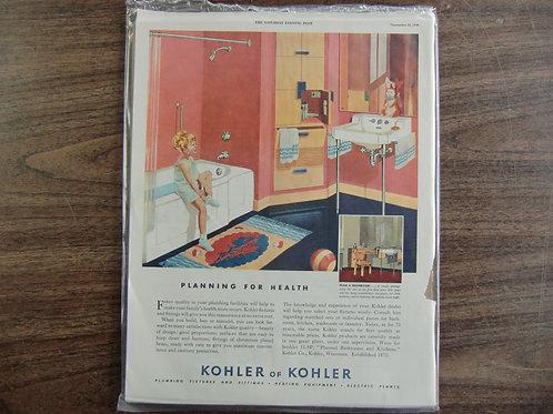 Kohler and Kohler fixtures