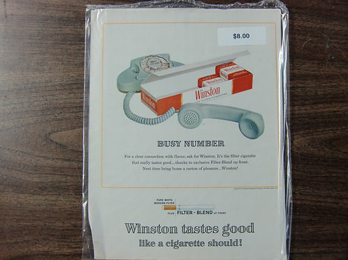 Winston cigarettes
