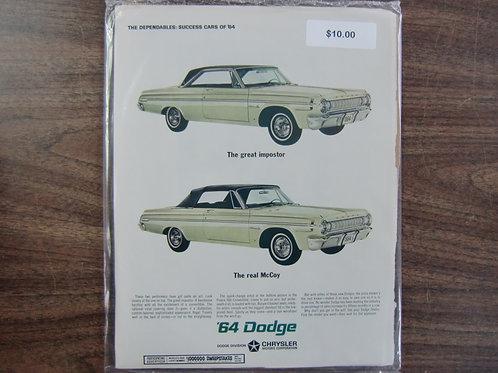 64 Dodge
