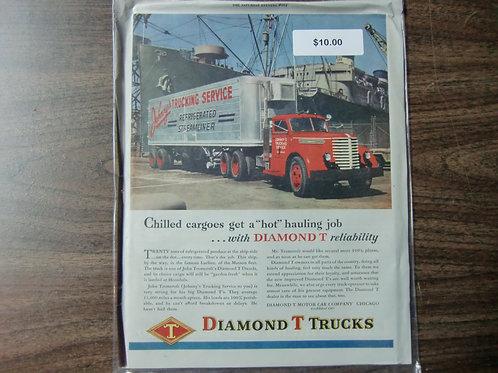 Diamond trucks