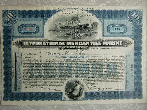 International Mercantile Marine