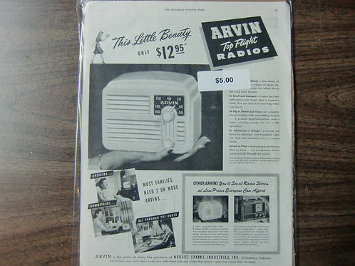 Arvin radios