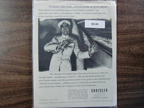Chrysler ad