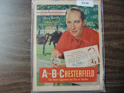 Chesterfield-Bing Crosby